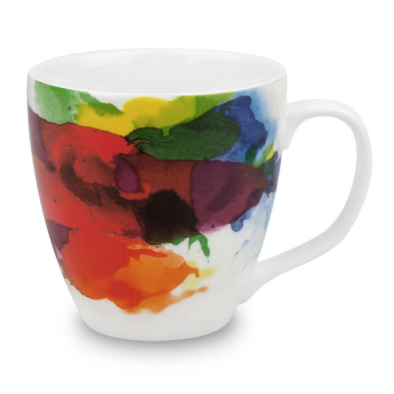 Konitz On Color 4-pc. Coffee Mug Set