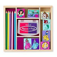 Disney Princess Wooden Stamp Set by Melissa & Doug