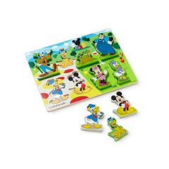 Disney Mickey Mouse Clubhouse Wooden Chunky Puzzle by Melissa & Doug by