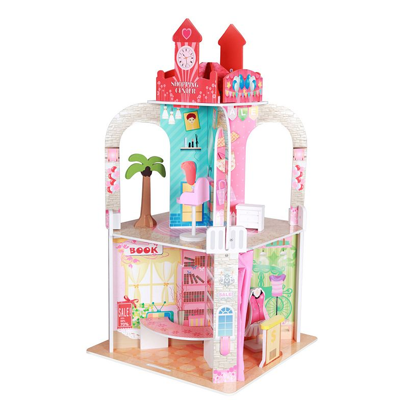 Teamson Kids Shopping Center with Figurines