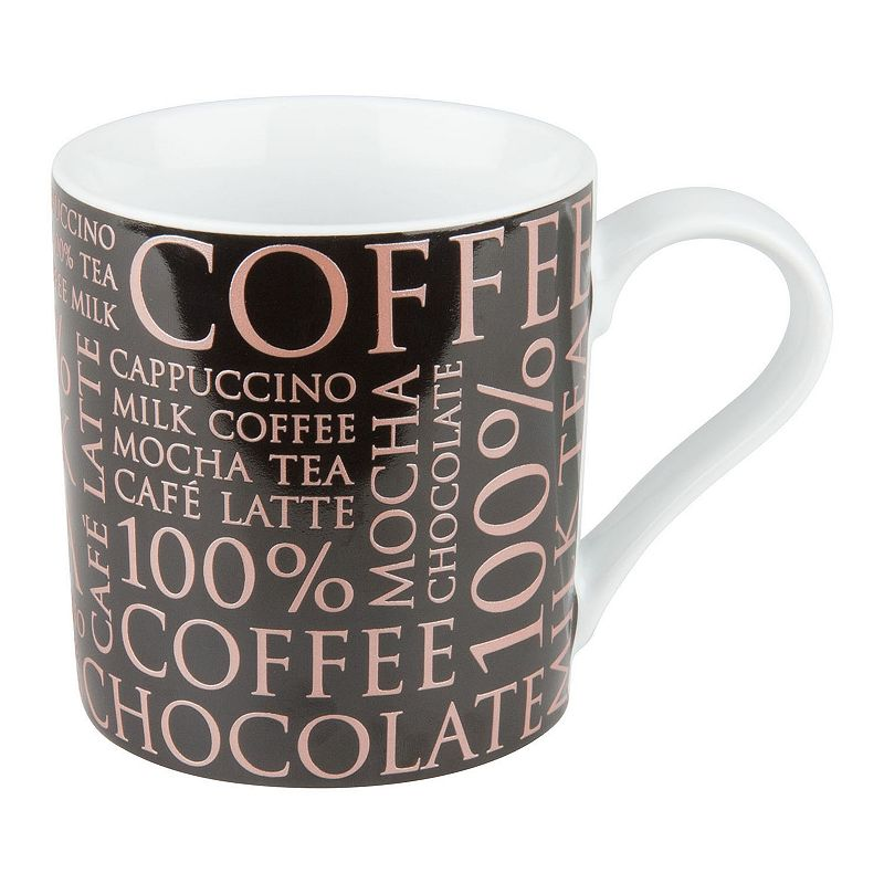 Konitz 100% Coffee 4-pc. Coffee Mug Set