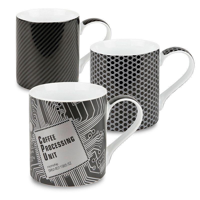 Konitz High Tech 3-pc. Assorted Coffee Mug Set