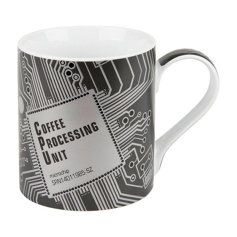 Konitz High Tech CPU 4-pc. Coffee Mug Set