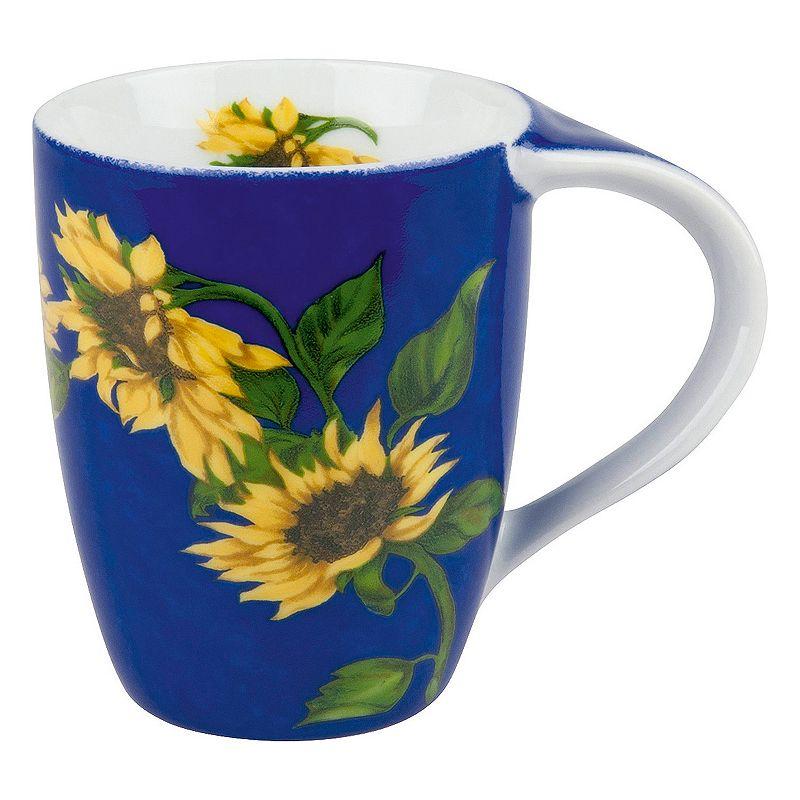 Konitz Sunflower 4-pc. Coffee Mug Set