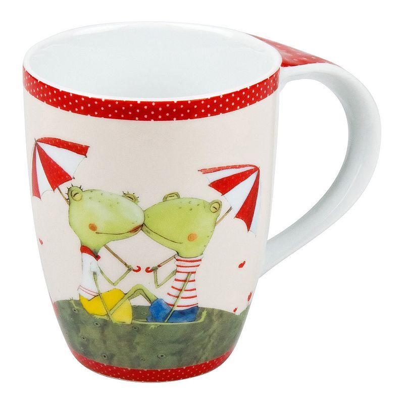 Konitz Frog Couple 4-pc. Coffee Mug Set