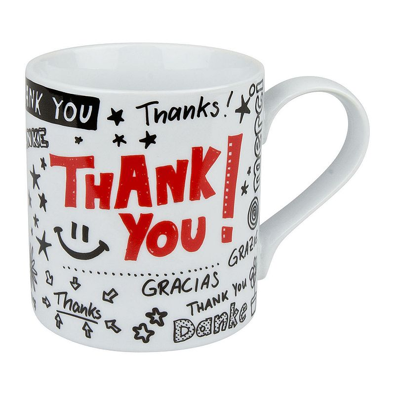 Konitz Thank You 4-pc. Coffee Mug Set