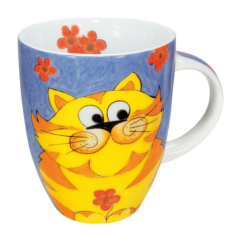 Konitz Cuddle Cat 4-pc. Coffee Mug Set