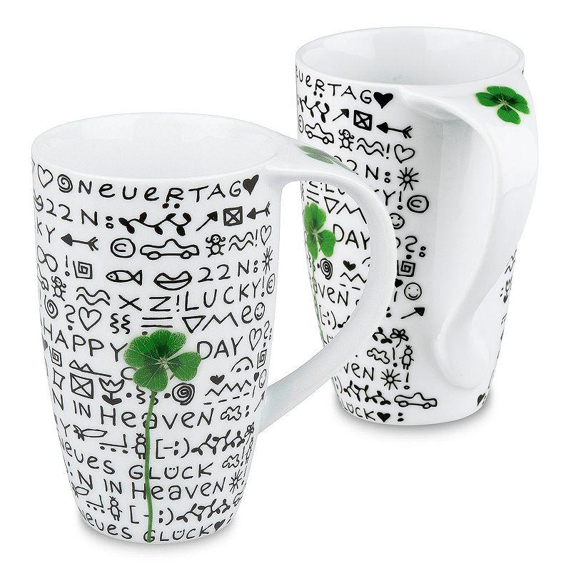 Konitz New Day New Luck 2-pc. Coffee Mug Set