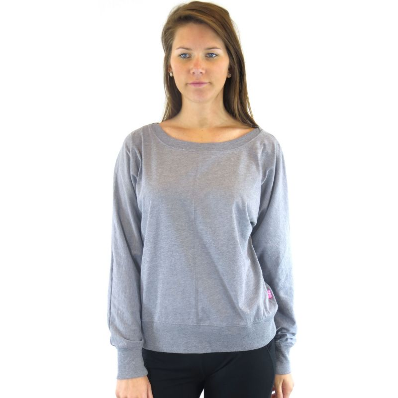Plus Size Plus Size Ryka Inspire Bateau Yoga Top, Women's, Size: 2X, Grey