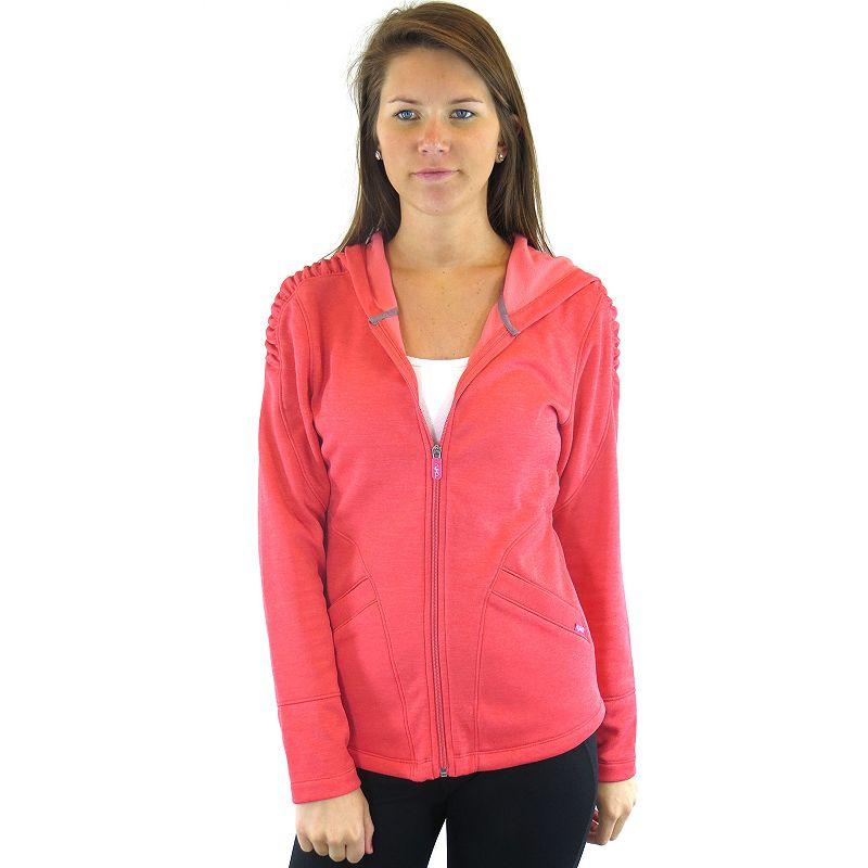Plus Size Ryka Inspire Full-Zip Fleece Yoga Hoodie