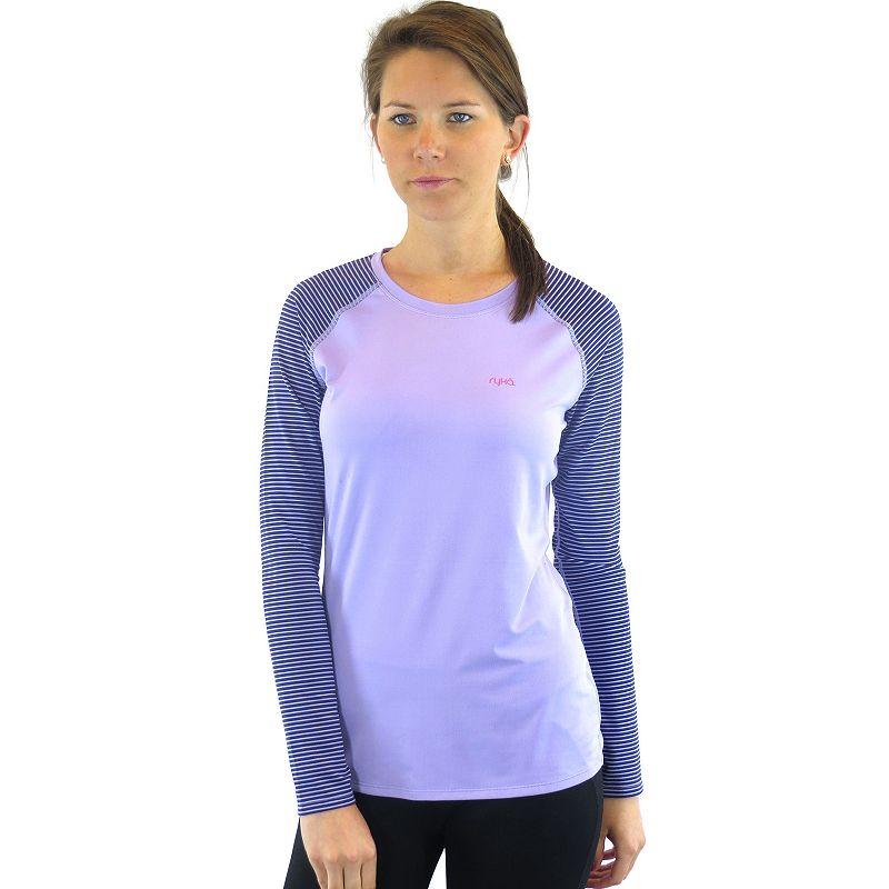 Plus Size Ryka Triumph Colorblock Raglan Yoga Tee