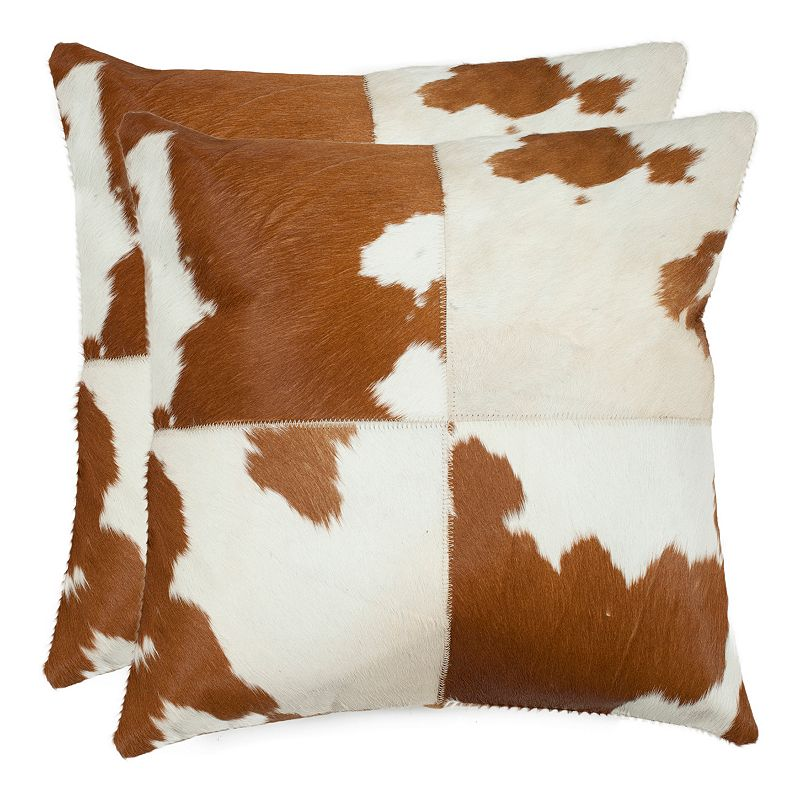 Kohls White Throw Pillows : CARLEY 2-PIECE THROW PILLOW SET (WHITE)