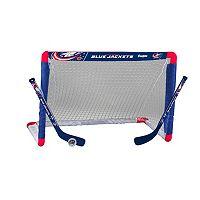 Franklin Columbus Blue Jackets Mini Hockey Goal Set