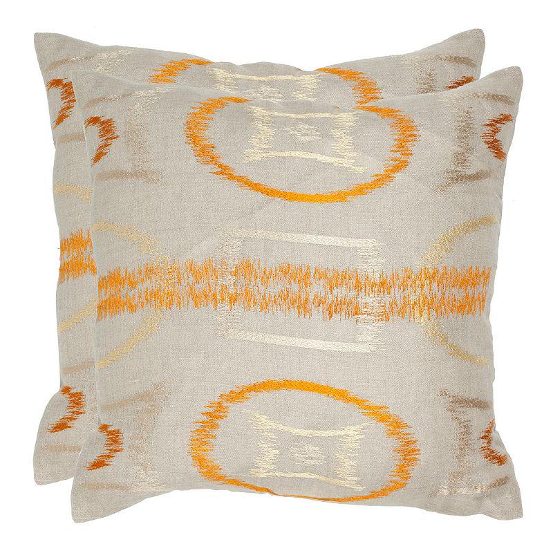 Reese 2-piece 18'' x 18'' Throw Pillow Set