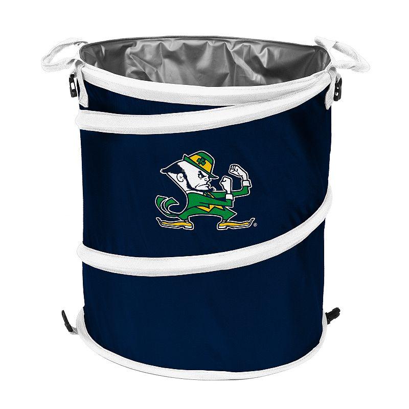 Logo Brand Notre Dame Fighting Irish Collapsible 3-in-1 Trashcan Cooler