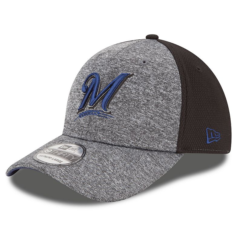 New Era Milwaukee Brewers Tech Fuse 39THIRTY Stretch-Fit Cap - Adult