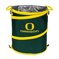 Logo Brand Oregon Ducks Collapsible 3-in-1 Trashcan Cooler