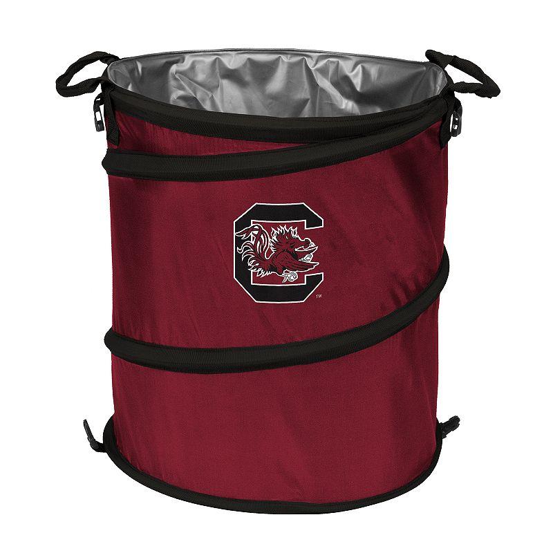 Logo Brand South Carolina Gamecocks Collapsible 3-in-1 Trashcan Cooler