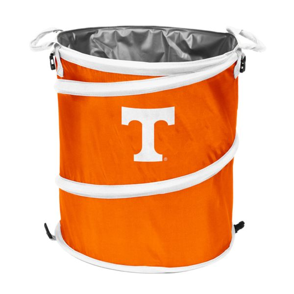 Logo Brand Tennessee Volunteers Collapsible 3-in-1 Trashcan Cooler