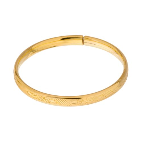 14k Gold-Filled Baby Bangle Bracelet - Kids