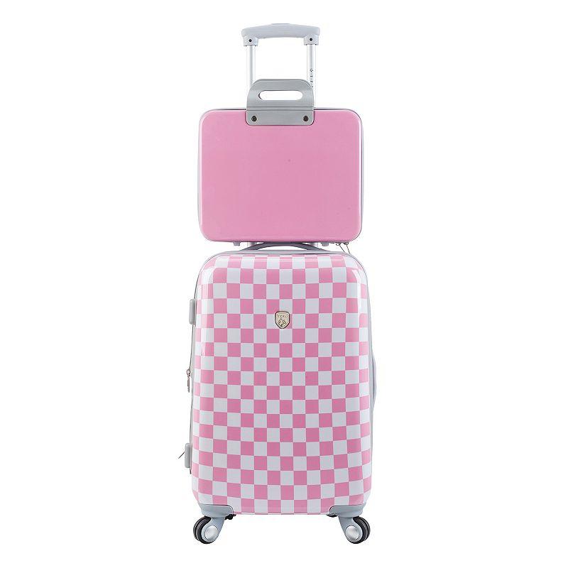 Travelers Club 2-Piece Hardside Luggage Set