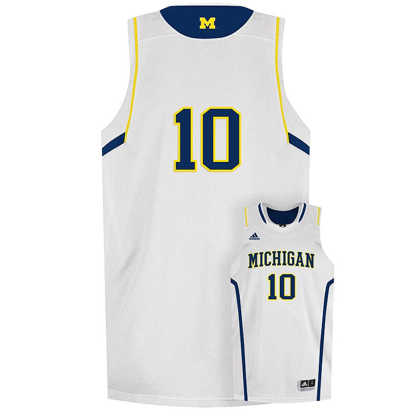 Men's adidas Michigan Wolverines NCAA Basketball Jersey