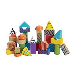 Create & Play Pattern Blocks by Manhattan Toy by