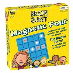 Brain Quest Magnetic Four by University Games