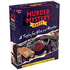 A Taste for Wine and Murder: Murder Mystery Party by University Games by