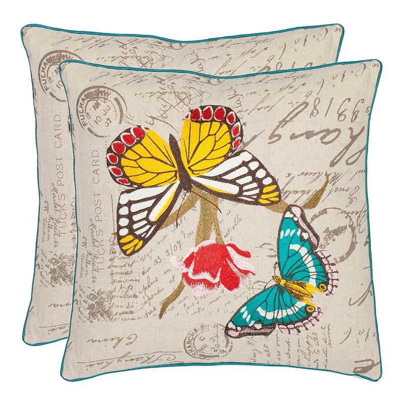 Christmas Throw Pillows From Kohls : Cream Throw Pillow Set Kohl s