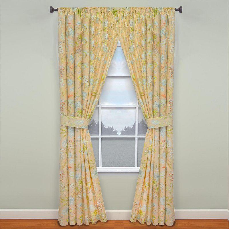 Waverly Cape Coral Curtain Pair - 50'' x 84''