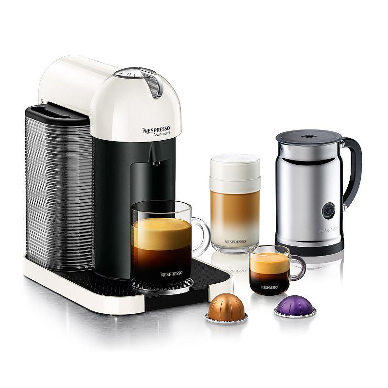 Nespresso VertuoLine Coffee and Espresso Machine with Aeroccino+ Milk Frother