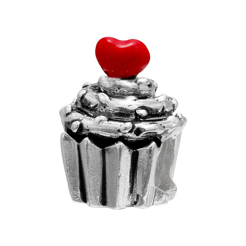 Individuality Beads Sterling Silver Cupcake Bead