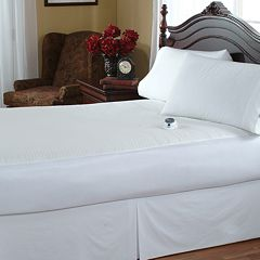 Serta Sherpa Electric Mattress Pad by