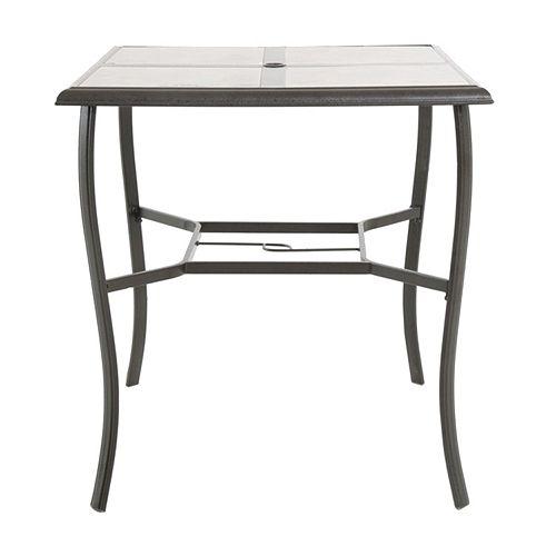 sonoma outdoors coronado tall square patio table