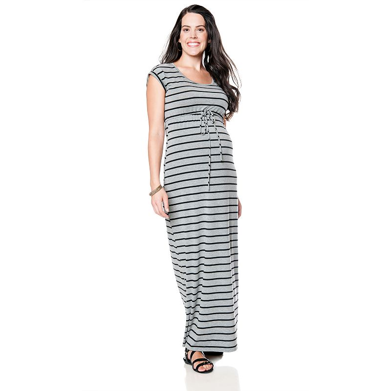 Oh Baby by Motherhood™ Striped Maxi Dress - Maternity
