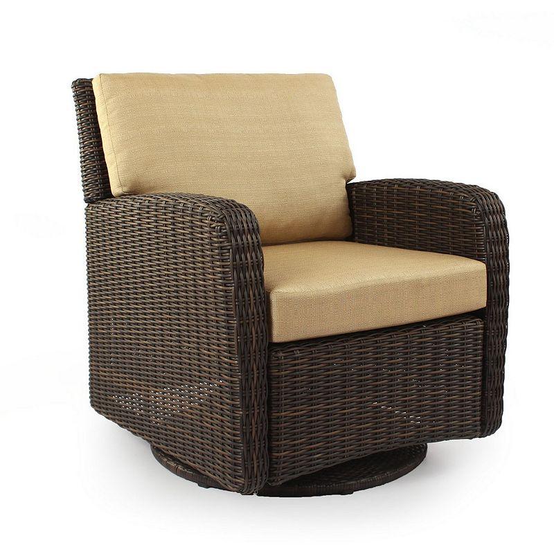 SONOMA Goods for Life™ Carmel Wicker Swivel Chair