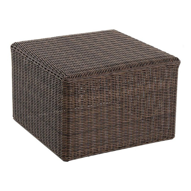 SONOMA Goods for Life™ Brampton Wicker Ottoman