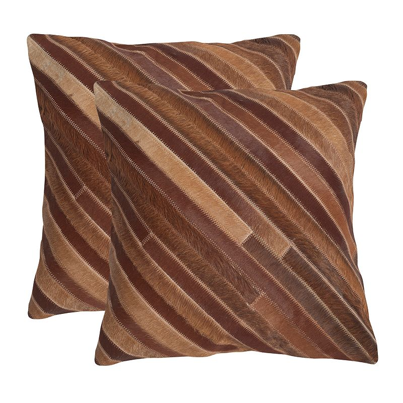 Cherilyn 2-piece 18 x 18 Throw Pillow Set