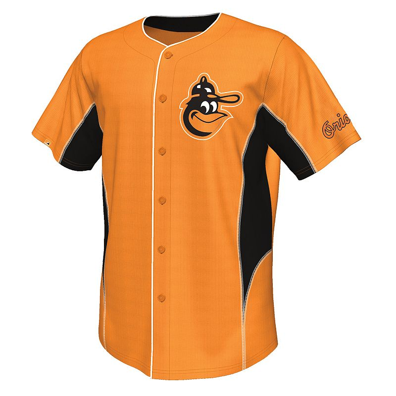 Big & Tall Majestic Baltimore Orioles Cooperstown Team Leader Jersey