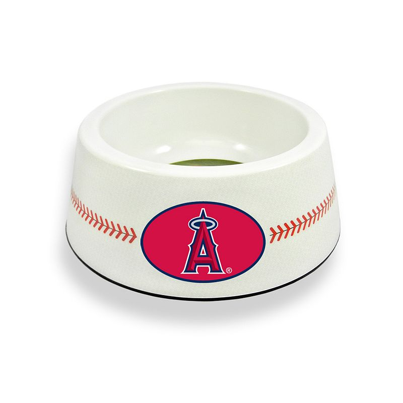 GameWear Los Angeles Angels of Anaheim Classic Baseball Pet Bowl