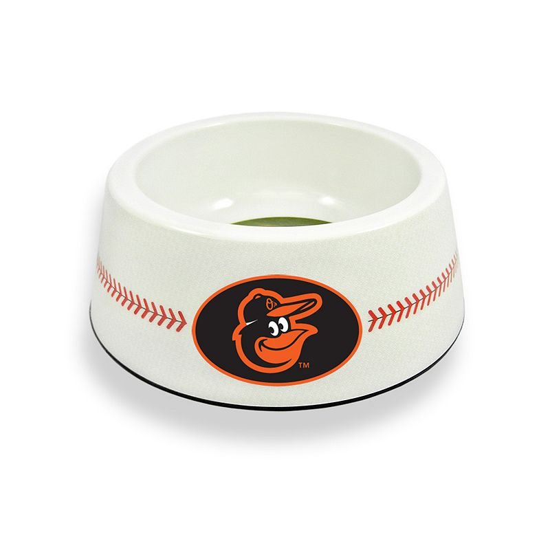 GameWear Baltimore Orioles Classic Baseball Pet Bowl