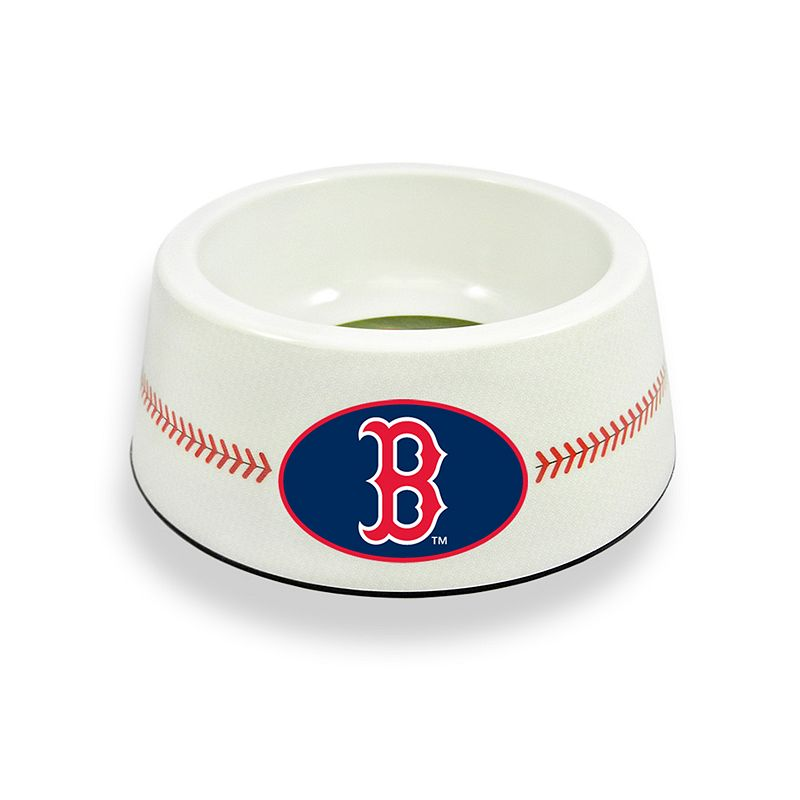 GameWear Boston Red Sox Classic Baseball Pet Bowl