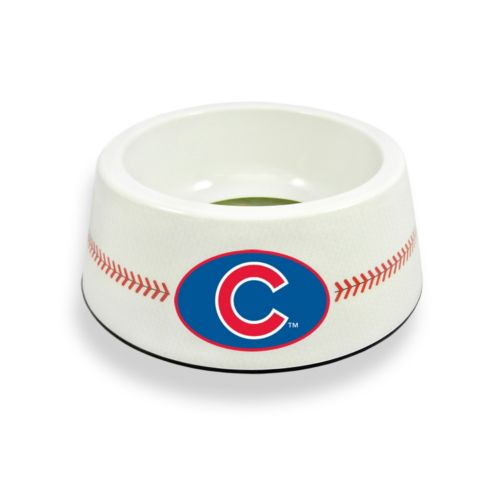 GameWear Chicago Cubs Classic Baseball Pet Bowl