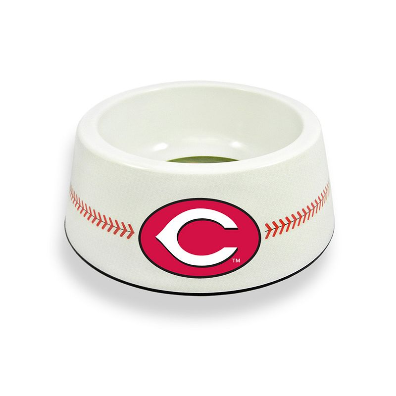 GameWear Cincinnati Reds Classic Baseball Pet Bowl