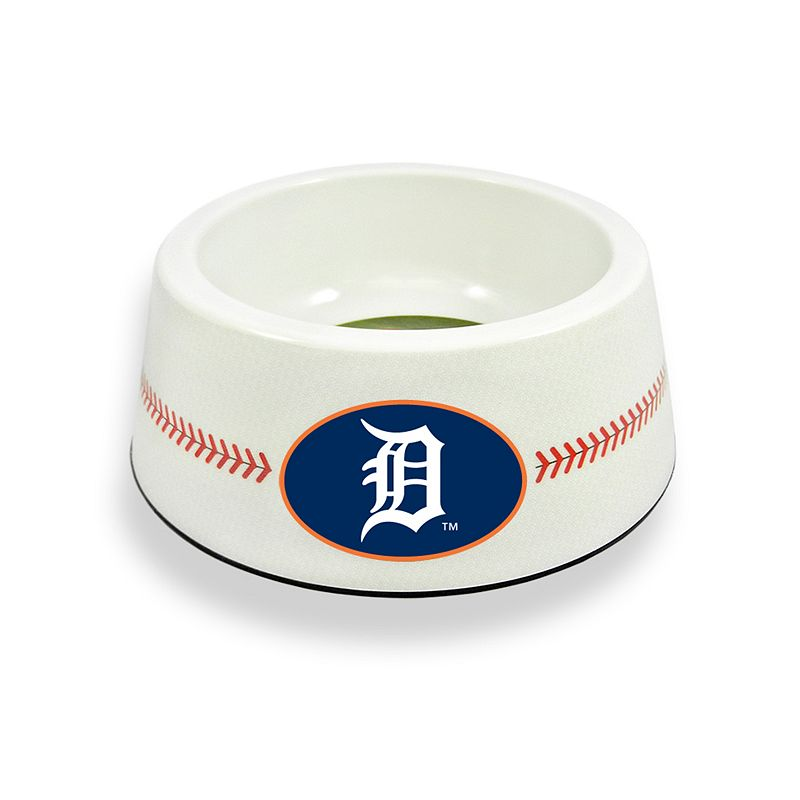 GameWear Detroit Tigers Classic Baseball Pet Bowl