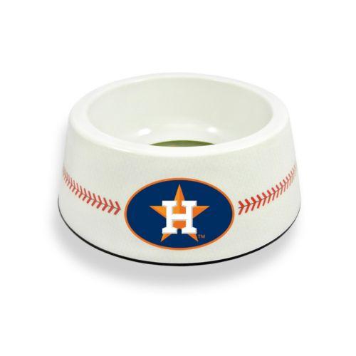GameWear Houston Astros Classic Baseball Pet Bowl