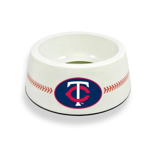 GameWear Minnesota Twins Classic Baseball Pet Bowl