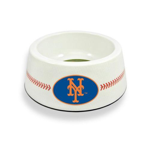 GameWear New York Mets Classic Baseball Pet Bowl