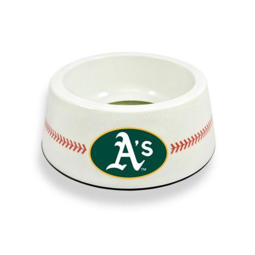 GameWear Oakland Athletics Classic Baseball Pet Bowl